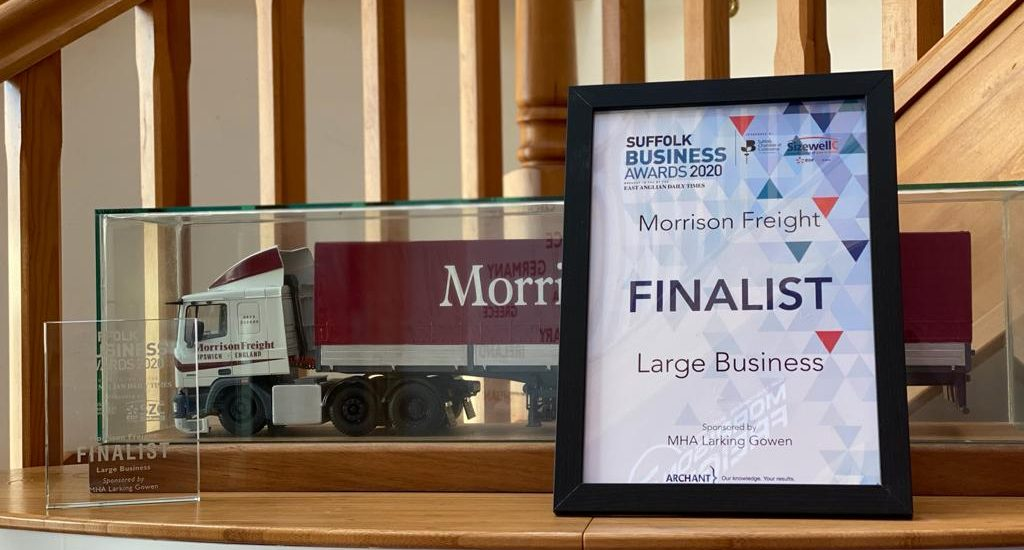 Morrison Freight are finalists once again!