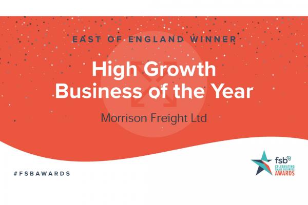 FSB East of England Winner High Growth Business